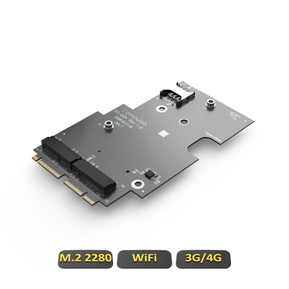 FC-CEM FACET-Card (M 2 + SIM for 3G/4G modem)