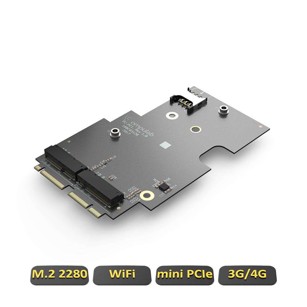 FC-PCI FACET-Card (miniPCIe + SIM for 3G/4G modem)